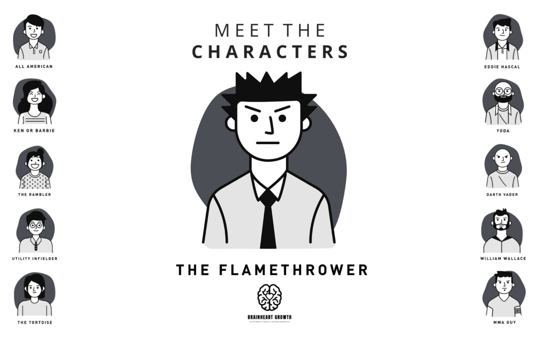"Meet ""The Flamethrower"""