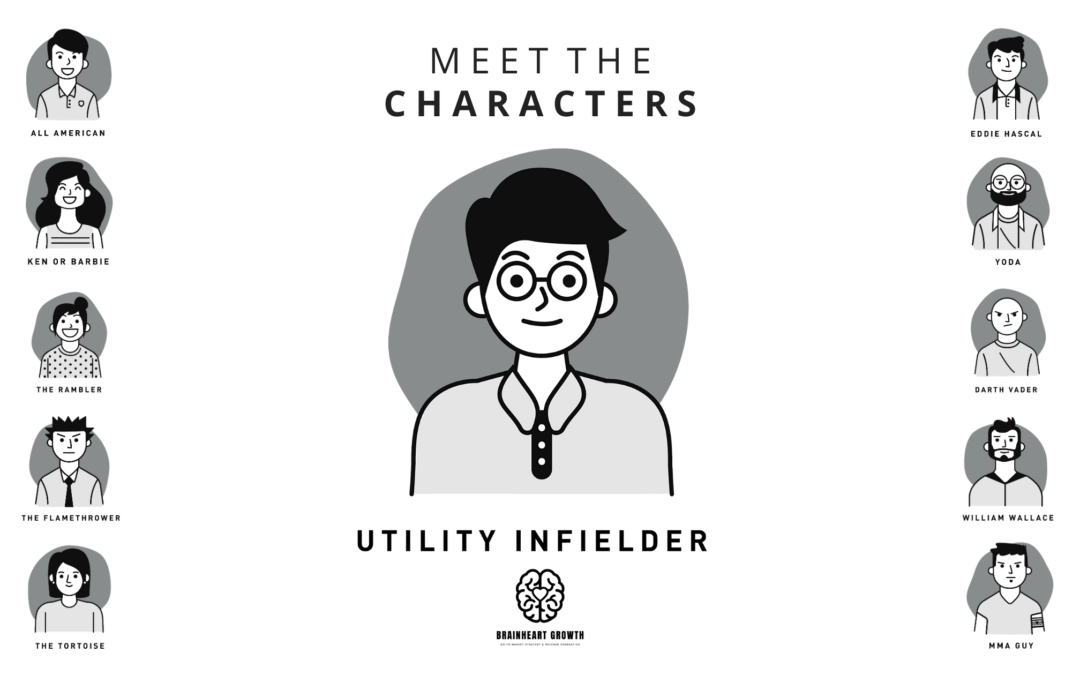 Brainheart Growth - Utility Infielder - Sales Personality Types